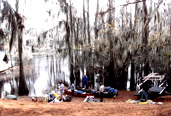 Canoe Club Launching at Pine Needle Lodge